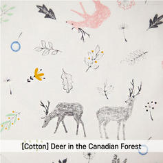 [Cotton-A-Animal] Deer in the Canadian F