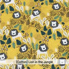 [Cotton-A-Animal] Lion in the Jungle 01.