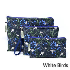 [Mysgreen-Reusable Pouch-A-Bird] White B