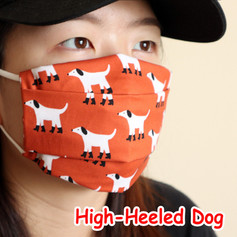 [Mysgreen-Face mask-Animal] High-Heeled
