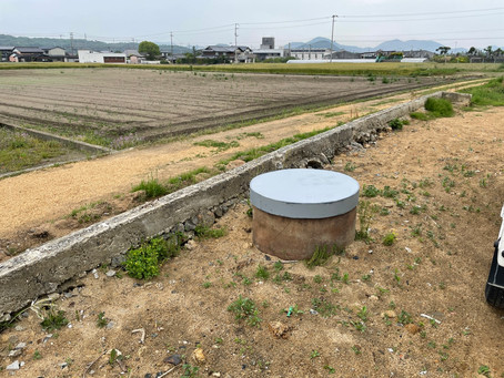 井戸の蓋を作成しました。