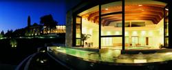 Fonteverde_Natural Spa_Thermal Bioaquam Pool By Night