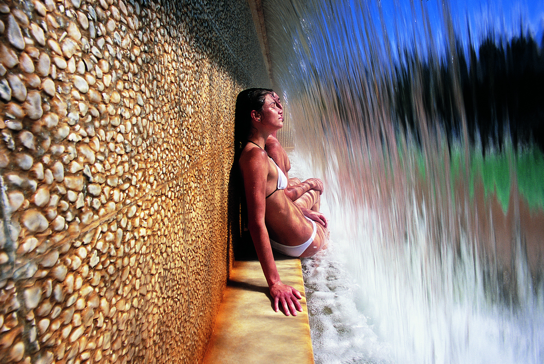 Fonteverde_Natural Spa_Thermal Pool Waterfall