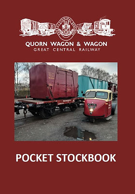 Quorn Wagon & Wagon Stockbook