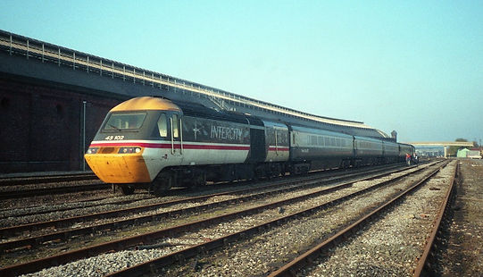 HST Test Train - Speed Record