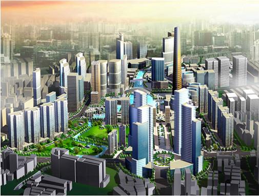 上海- 虹口區總體規劃
