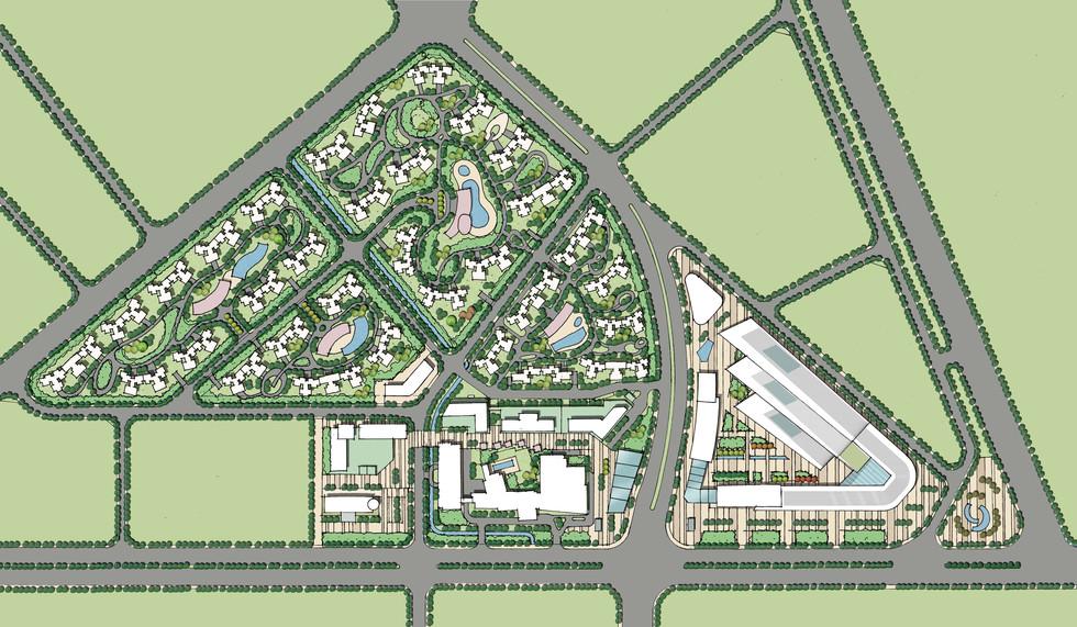 廣州· 花都嘉華廣場周邊地塊總體規劃