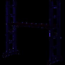 Location échafaudage acec plateforme