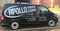 window cleaner van graphics