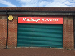 butchers shop sign