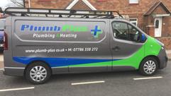 plumbers van graphics