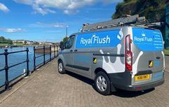 royal flush ford custom van graphics
