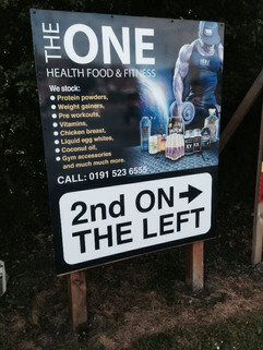 Industrial estate signage and company direction signs