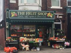 fruiters shop sign