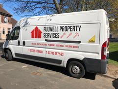 fulwell property van vinyl