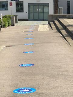 external floor graphics