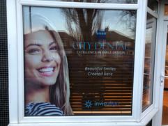 dentist window graphics