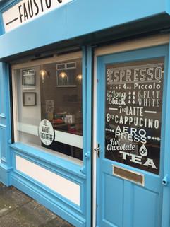 coffee shop window graphics