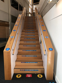 safety stair graphics