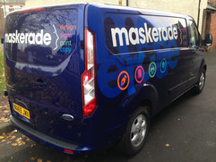 fruit and veg delivery vans