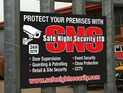 security correx board signs