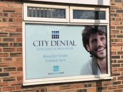 window decoration dor dentist