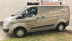 joinery van graphics