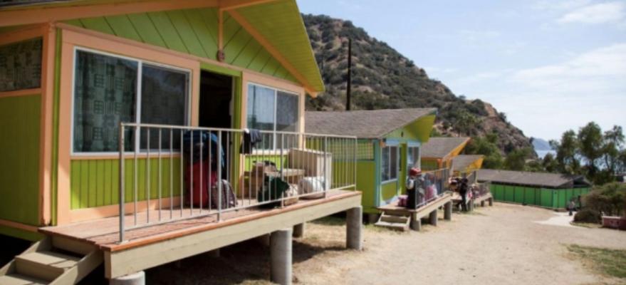 Hard sided cabin