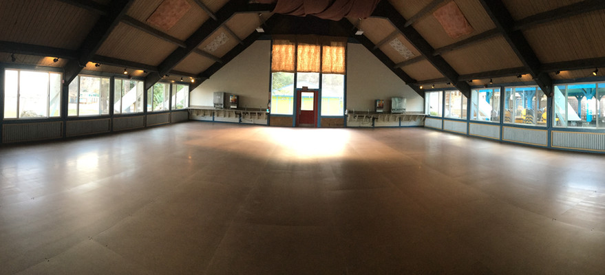 Dance hall with the Noodle Floor!