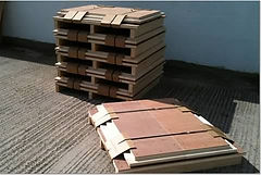 Flat packed crates, Packable Ltd never uses nails or glue in the manufacture of crates