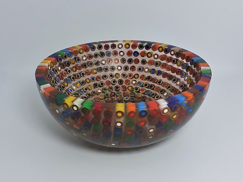 Coloured Pencil Bowl