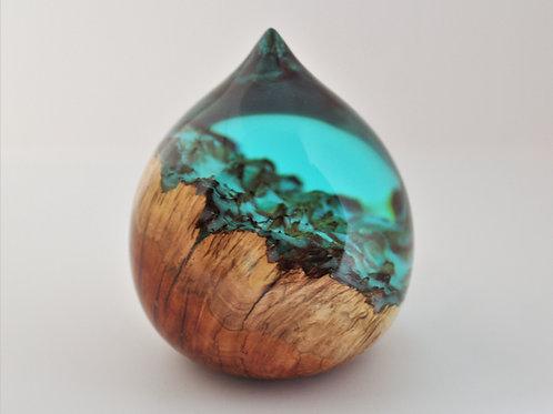 Turquoise Teardrop