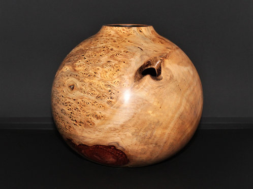 Mulberry Hollow-form Vessel (amended)