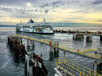 BC Ferries during Covid times - a blog, in 1000 Words or Less