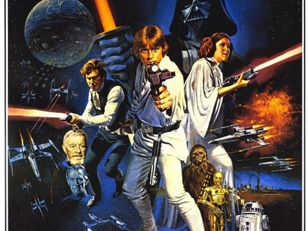Star Wars 44 years later - a blog in 1000 Words or Less