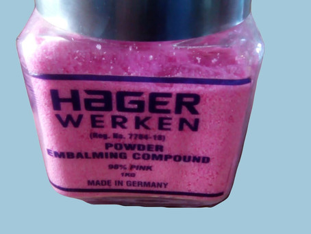 Embalming powder price per kg 0746599095 hager werken