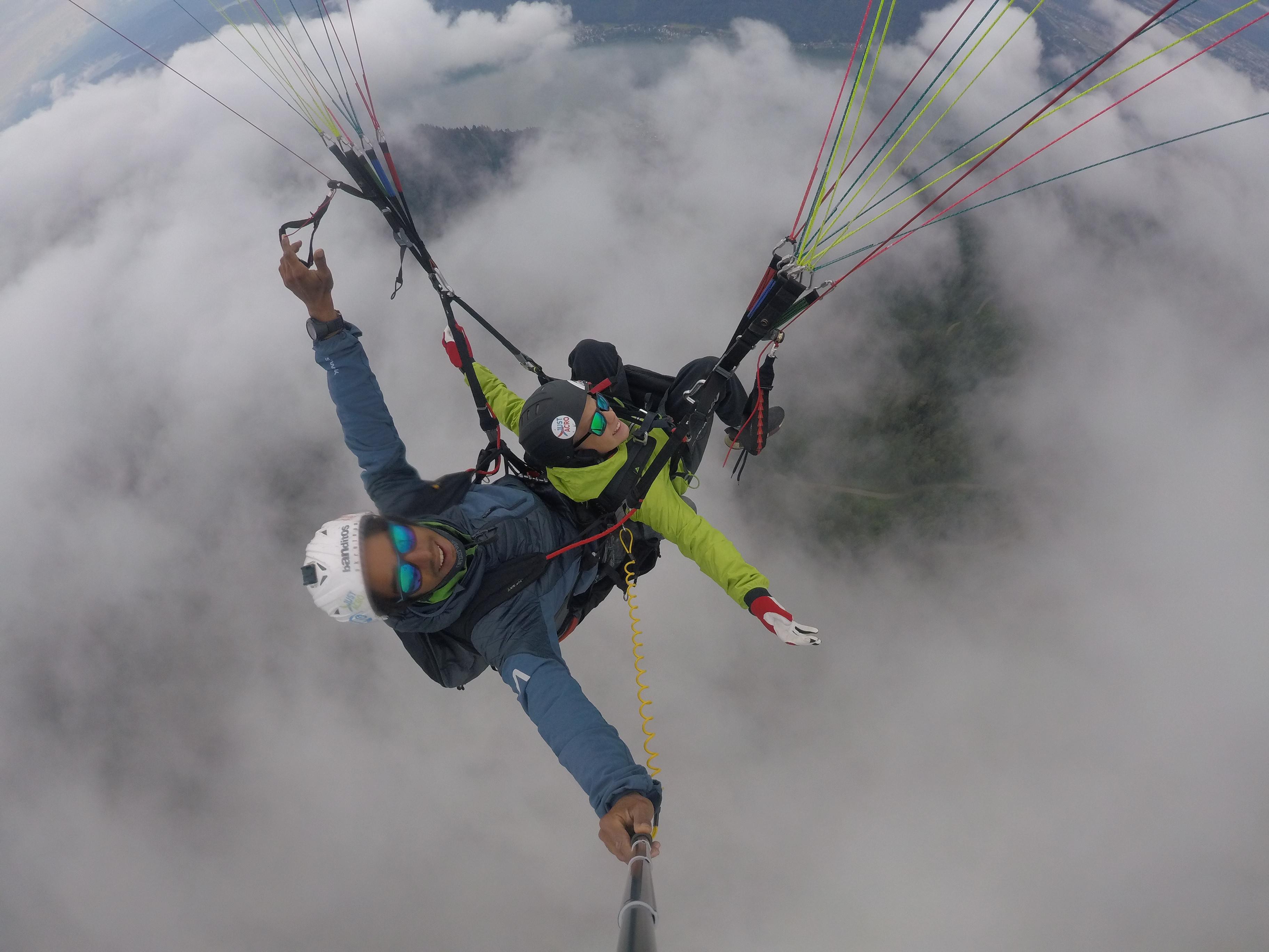 Thermik Flug | Thermal Flight