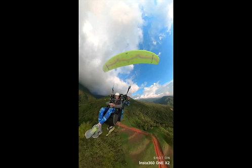 360 degree VIDEOS & PHOTOS of the flight / 360-Grad-Videos & Fotos vom Flug
