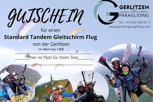 VOUCHER - Standard Tandem Flight / GUTSCHEIN Standard Flug