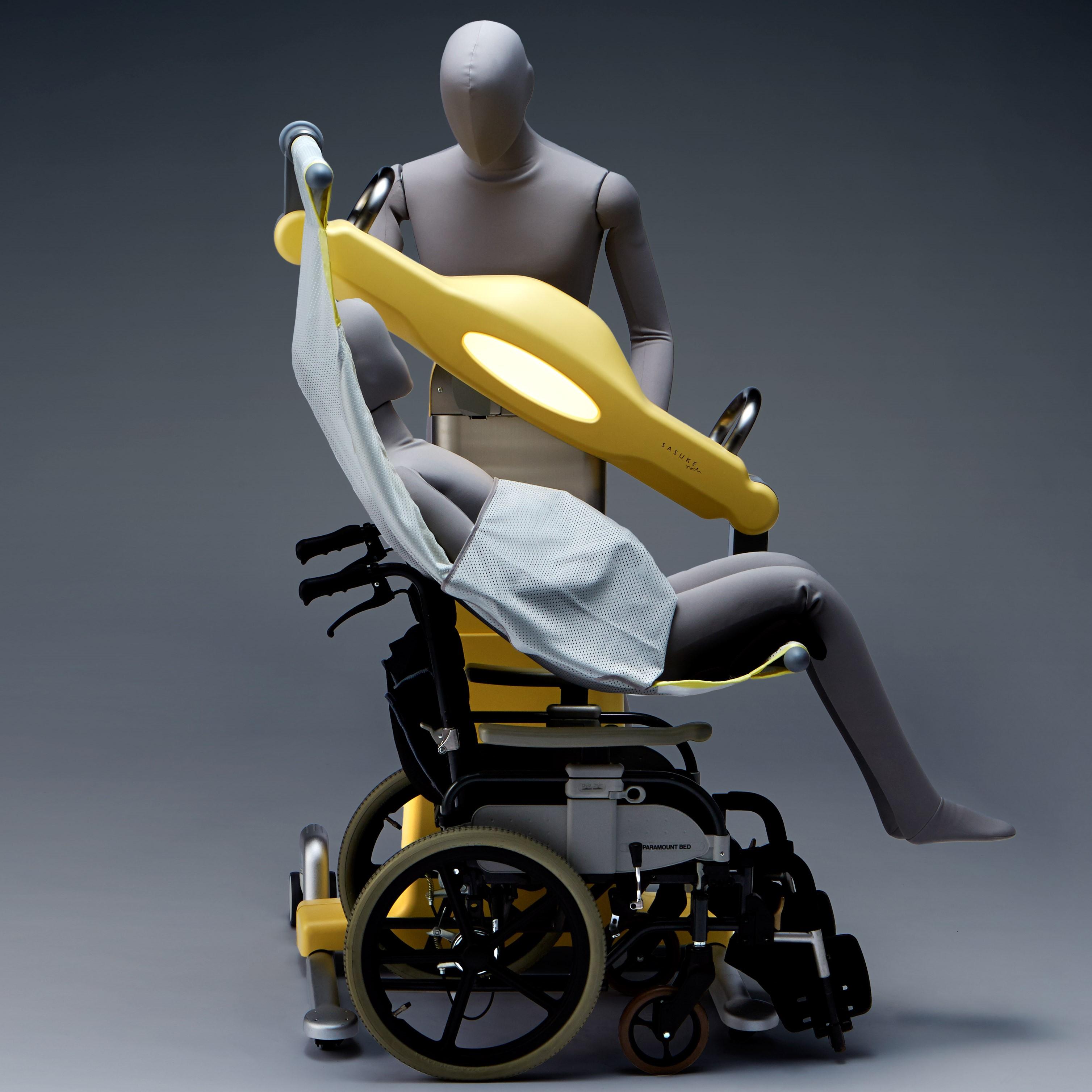 車いすをセット