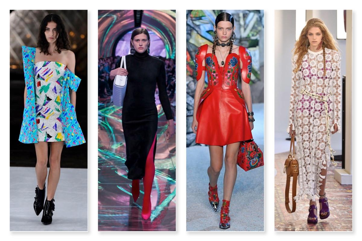 Louis Vuitton, Balenciaga, Alexander McQueen, Chloe