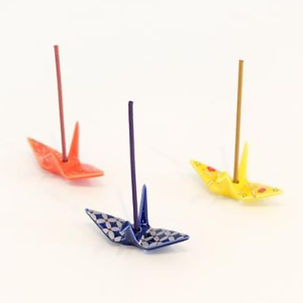 orizuru crane incense holder.jpeg