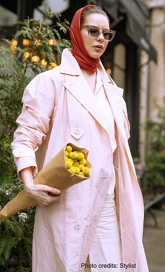 How to accessorize with your scarf
