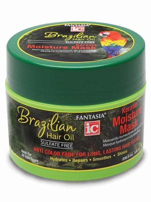 Fantasia - Brazilian Hair Oil - Keratin Moisture Mask - 8.3oz