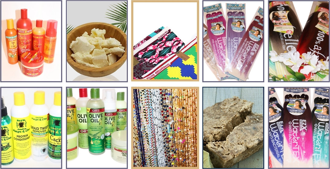 Shop for African Beauty Products, all at The Palace Beauty