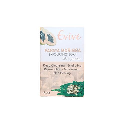 Evive -Papaya Moringa Soap - 5oz