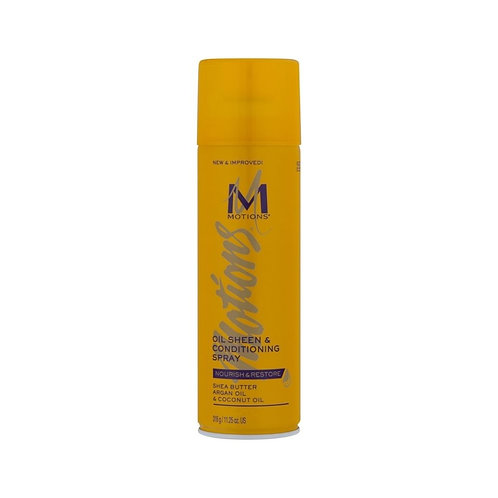 MOTIONS - Oil Sheen & Conditioning Spray - 11.25oz(318grams)