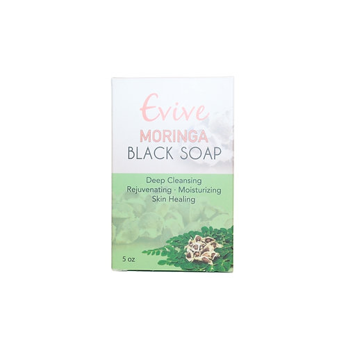 Evive - Moringa Black Soap - 5oz