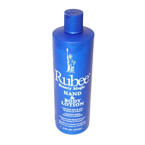 Rubee Beauty Magic - Hand & Body Lotion - 16oz