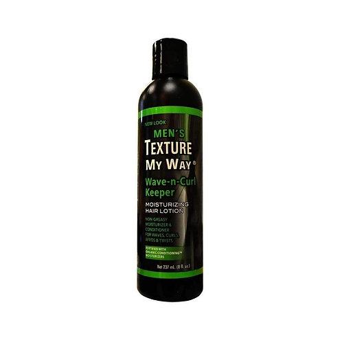 Men's Texture My Way - Wave-n-Curl Keeper - Moisturizing Hair Lotion